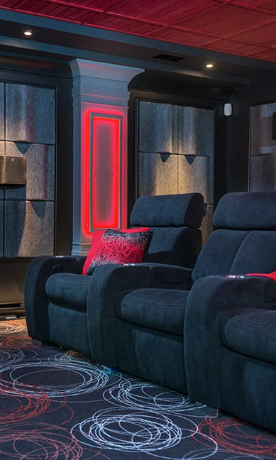 Cinéma maison design