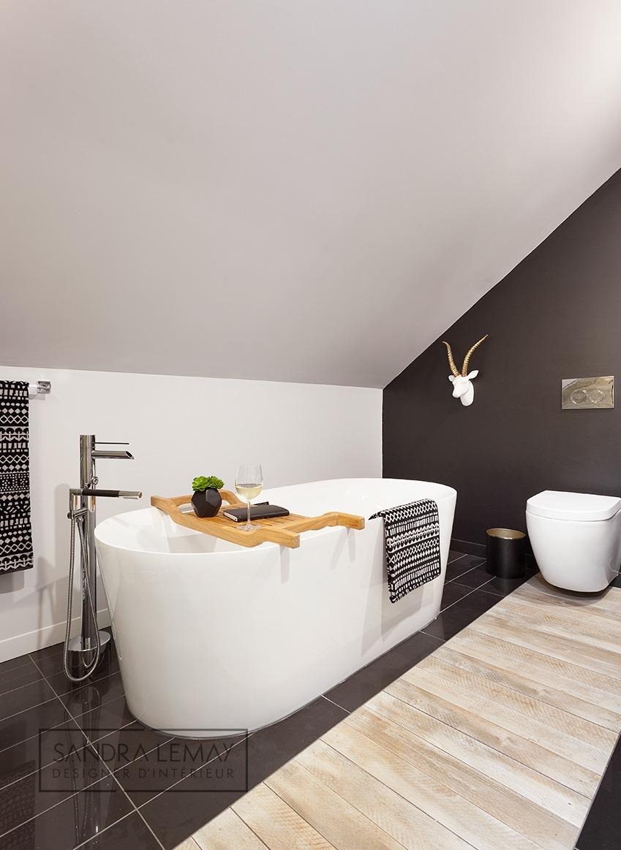 Aménagement appartement - salle de bain