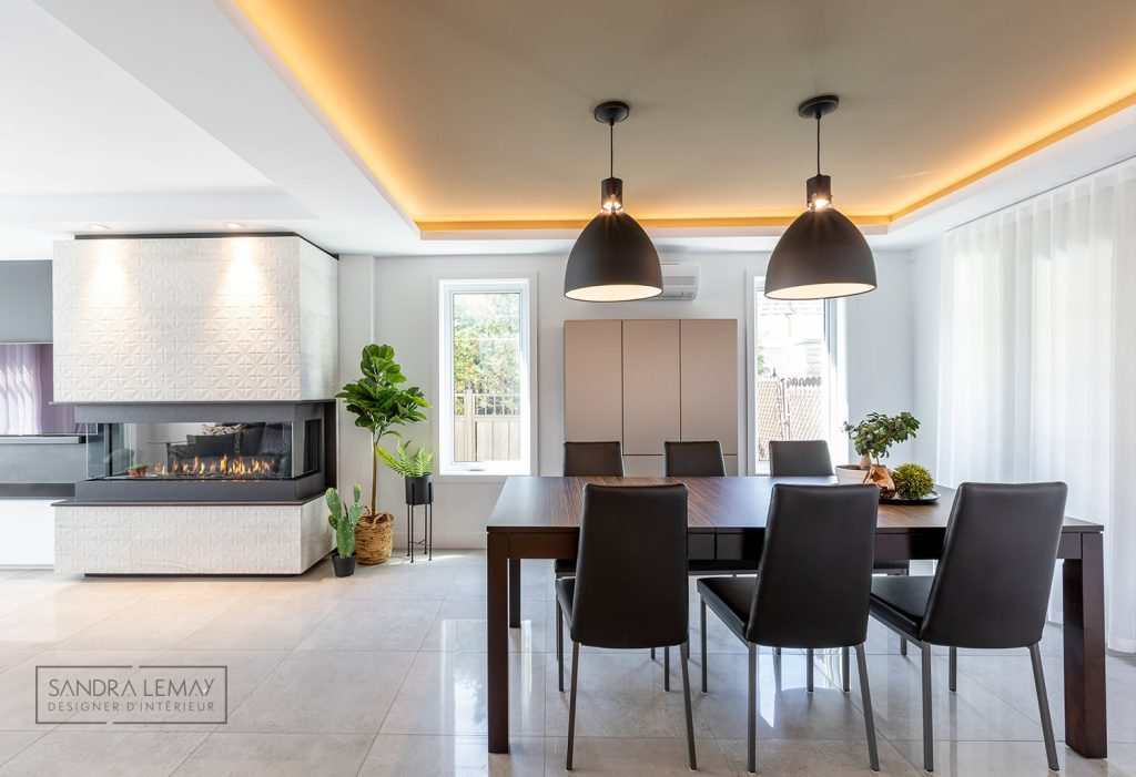 plafond design renovation cuisine intemporelle