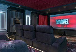 Aménagement de cinéma maison
